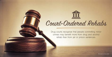 court ordered drug rehab and addiction treatment what you court ordered drug rehab programs