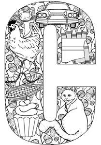 what color starts with c 59 best images about abc coloring pages on the