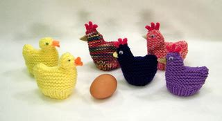 knitting pattern for chicken egg cosy ravelry chicken and duck egg cozies easter pattern by