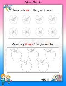 colouring worksheets nursery math worksheets