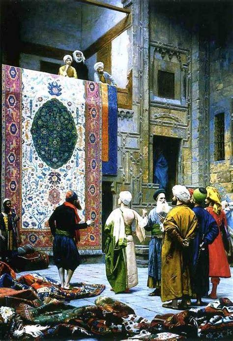 rug merchants jean gerome carpet merchant in cairo painting best