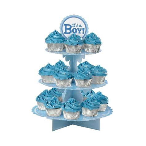 Baby Shower Cupcake Stand by Its A Boy Cupcake Stand