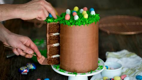 diy chocolate easter cake my crafts and diy projects