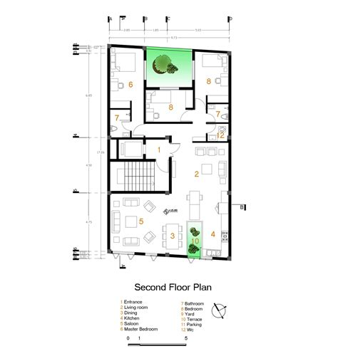 Floorplanes gallery of andarzgoo residential building ayeneh office 14