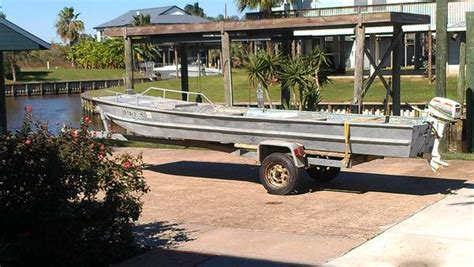 bow to boat p90x 16 foot 1982 eldocraft jon boat and trailer 700 san
