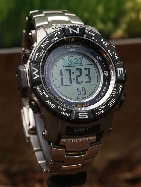 G Shock Protreck Black Gold casio pro trek prw 3500 watches for 2015 on