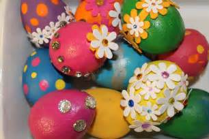 decorated easter eggs easter egg decorating idea 3 painted bling eggs north