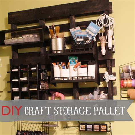 diy craft studio studio craft room organization using pallets and other