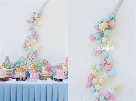 karas party ideas pastel girly wonderland rainbow birthday party