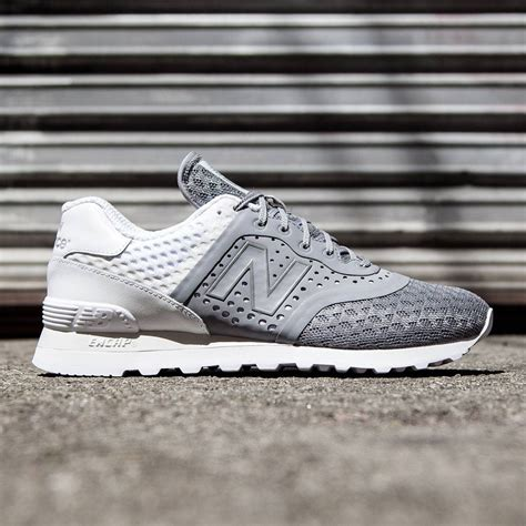 New Balance 574 Re Engineered Harga new balance 574 re engineered breathe mtl574mg gray white