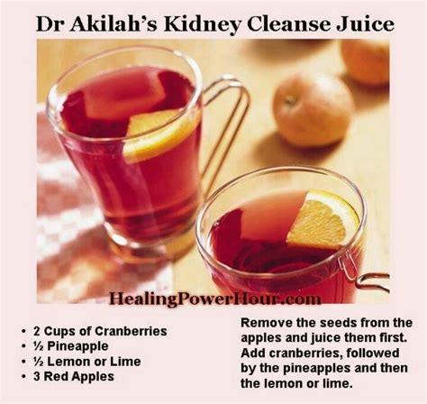 Detox Juice For Kidneys by Kidney Cleanse Juice Lite And Healthy