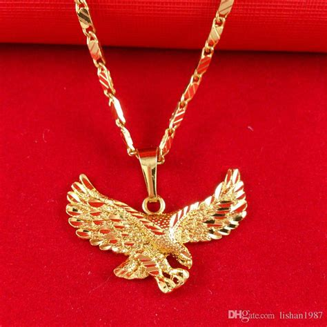 wholesale 24k gold filled jewelry necklace ambition