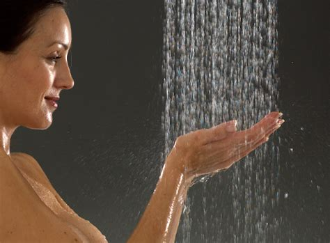 Shower Model by Model Photography Bathroom Brochure Creative