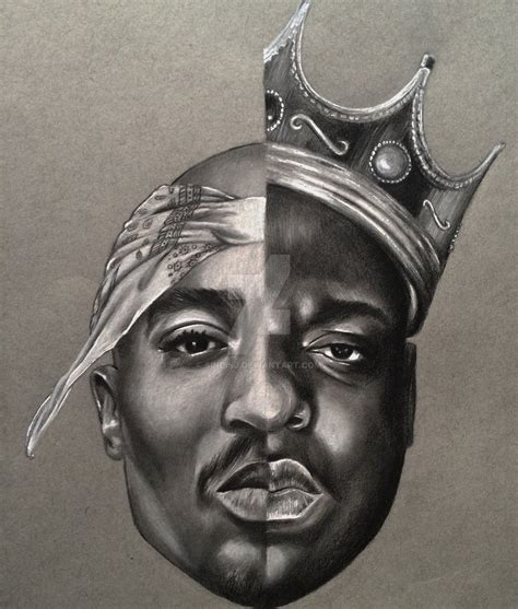 tupac biggie by sindisj on deviantart