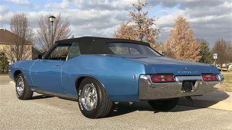 1969 Pontiac Tempest For Sale by 1969 Pontiac Tempest Custom S Convertible L94 1
