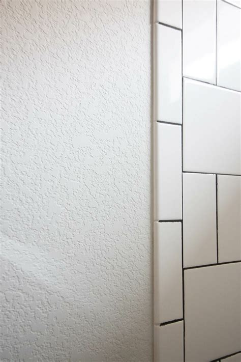 textured bathroom walls how to smooth textured walls with a skim coat modernize