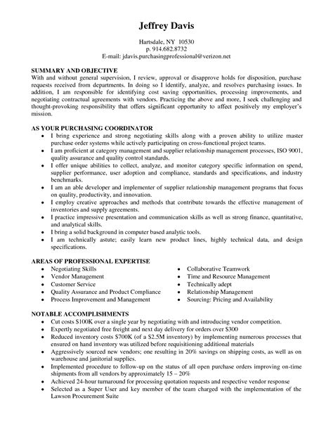 purchasing resume objective delighted purchasing resume cover letter photos resume
