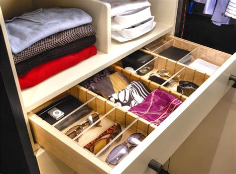 Drawer Closet Organizer by Scarf Storage Solutions For An Organized Closet