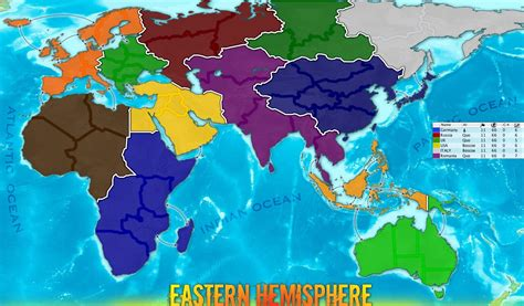 eastern hemisphere map eastern hemisphere map
