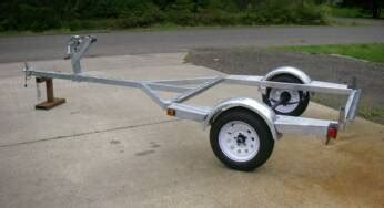 homemade boat trailer rollers drift boat trailer plans how to build diy pdf download