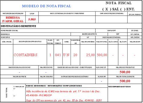 layout nf e complementar modelo de emiss 227 o de nota fiscal armaz 201 m geral