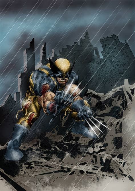 wolverine colors mike deodato jr wolverine colors by mota