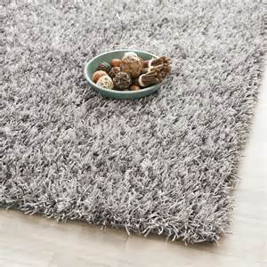 tufted silken grey shag area rug 5 square ebay