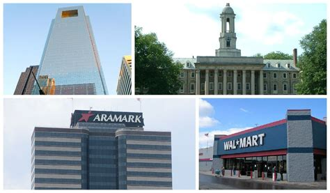 Welfare Office Philadelphia Pa by Wal Mart Gt Comcast The Employers In Pennsylvania