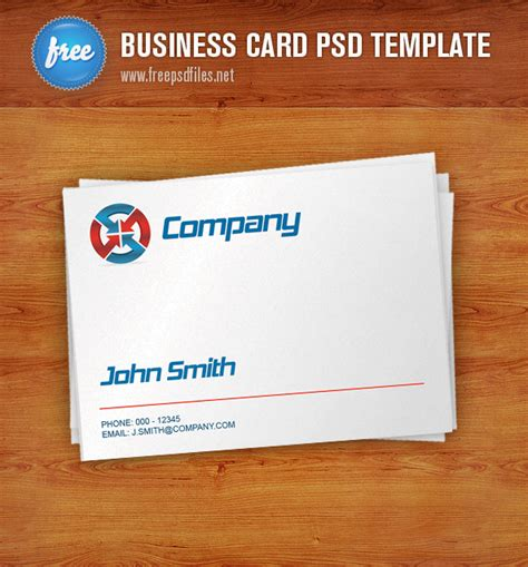 visiting card templates psd free business card psd free psd files