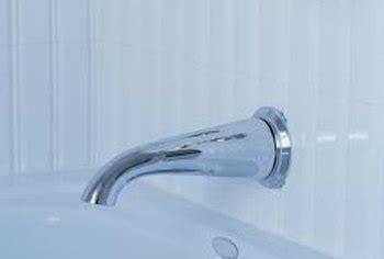 fix seats  bathtub faucets home guides sf gate