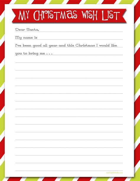 printable christmas list printable christmas wish lists are we there yet