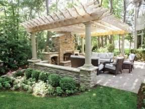 pergola patio fireplace sublime decorsublime decor