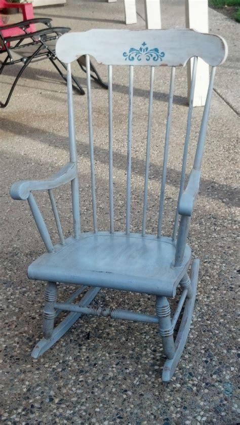 chalk paint rocking chair a c country chic
