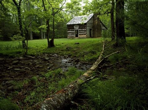 Great Smoky Mountains Log Cabin Pin By Pollock On Barns And Cabins