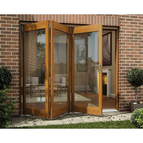 Jeld Wen Folding Patio Doors Cost Buy Jeld Wen Oak Veneer Folding Patio Door Set 2105 X 1805mm At Argos Co Uk Your Shop