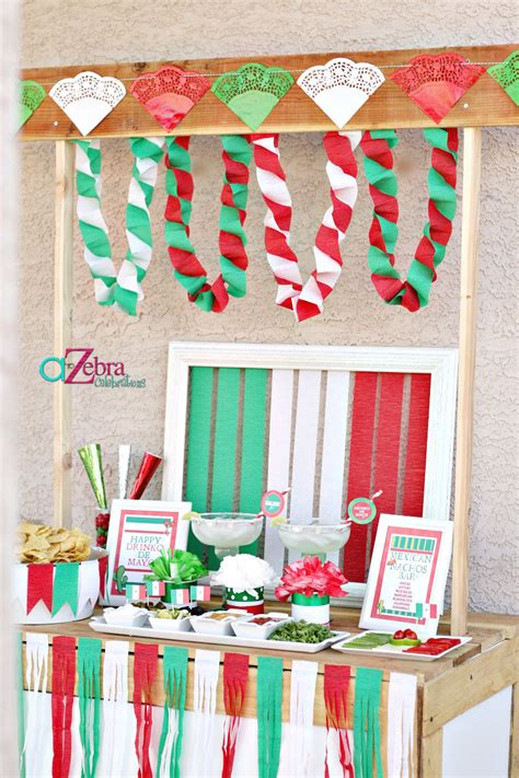 home decor mexican party theme decorations design ideas luxury bring the joy by the colourful mexican party decorations