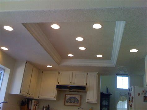 Suspended Ceiling Lighting Ideas Kitchen Drop Lights