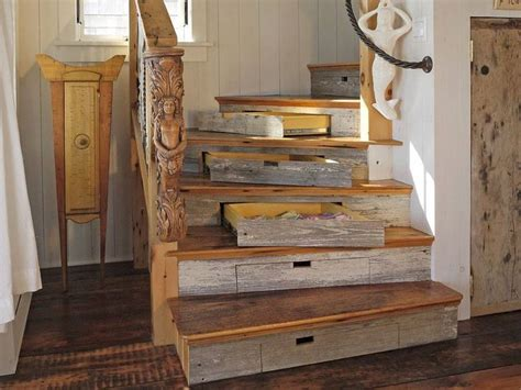 Treppe Mit Schubladen by Drawer Storage In Curved Staircase Timber Trails