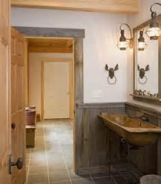 Rustic Bathroom Lighting Ideas Rustic Bath Industrial Design Bathroom