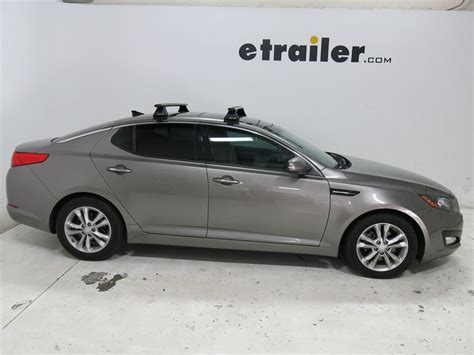 Kia Optima Fixed Up Roof Rack For 2013 Kia Optima Etrailer