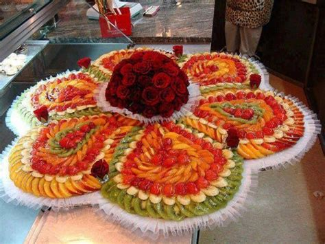 fruit decoration ideas flower fruit salad from home decorating ideas food art food