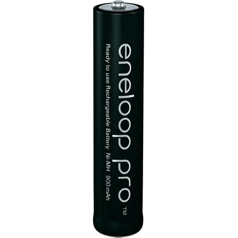 aaa battery rechargeable nimh panasonic eneloop pro 900