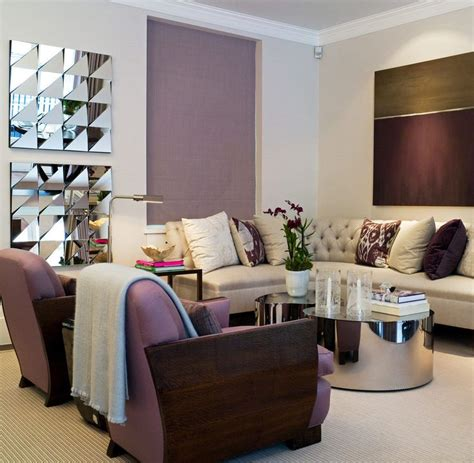 plum purple and green living room apartment ideas