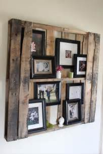 shelves from pallets diy pallet wall shelves picture frame display rack 99