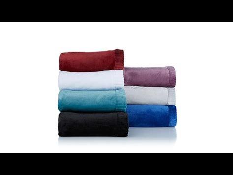 Hem Channel soft cozy channel hem plush blanket