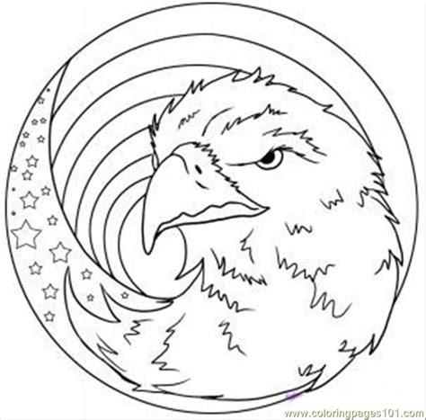 eagle mandala coloring pages free coloring pages of mandala eagle