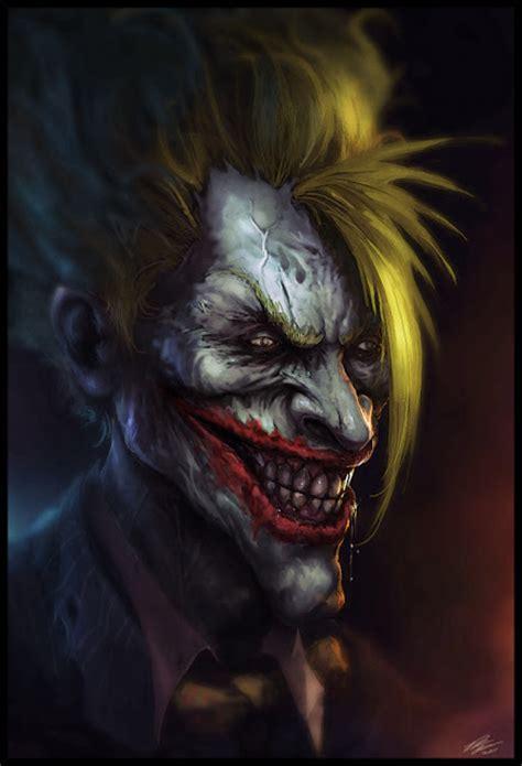 wallpapers uk   scary joker illustration artworks
