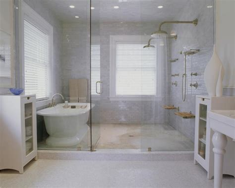 Modern Bathroom In Traditional House Modern Shower Enclosure Bathroom Shower Designs
