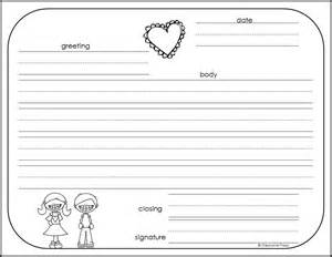 Template For A Friendly Letter by How To Write A Friendly Letter Free Printables Primary