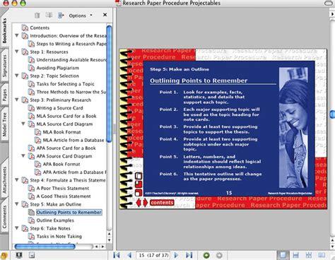 sling procedure in research paper research paper procedure